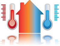 Home heating and cooling